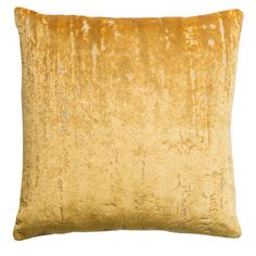 Aurora Velvet Gold Square Cushion available from http://serendipityhomeinteriors.com