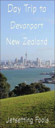 Day trip to Devonport, New Zealand: Ferry from Auckland #Devonport #DayTrip #travel