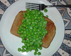 Mama's Creamed Peas for Sick Tummies