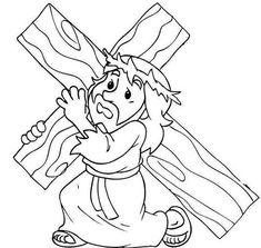 30 Desenhos de Jesus para Colorir em Casa (COLORINDO)