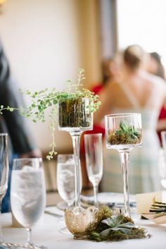 Romantic unique stemmed glassware | Image by Preston Utley