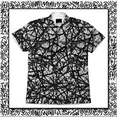 SOLD SHORT SLEEVE WORKSHIRT GRUNGE ART ABSTRACT G29! #Printalloverme #short #sleeve #workshirt #grunge #art #abstract #black #white #fashion #cool #trendy #Paoms #Paom #Clothing #men #boy #guys  https://paom.com/products/0000000p-short-sleeve-workshirt-grunge-art-abstract-g29
