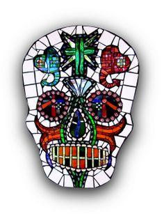 Day of the Dead Skull! | Flickr - Photo Sharing! by Kim Larson