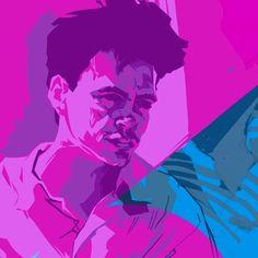 LET THE REFINING BEGIN! First session moving towards the final for my #lessthanzero poster. #schmandrewart #illustration #artistsoninstagram #illustratorsoninstagram #digitalpainting #digitalart #adobephotoshopcc #wacom #rdj #robertdowneyjr