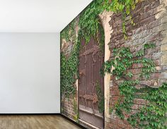 garden wallpaper murals | ... TO ANY ROOM WITH THIS SELF-ADHESIVE SECRET GARDEN WALLPAPER MURAL