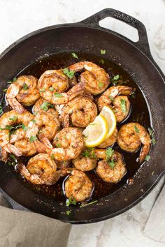 Simple and delicious garlic butter sautéed shrimp recipe! A great shrimp dinner ready in just 10 minutes. This keto diet recipe is amazing. Sauteed Shrimp Recipe, Pan Fried Shrimp, Fried Shrimp Recipes, Garlic Butter Shrimp, Shrimp Appetizers, Shrimp Recipes For Dinner, Shrimp Dishes, Seafood Recipes, Fish Recipes