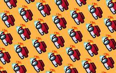 AMONG US | FIRE | COLD | WALLPAPER DESKTOP GOLDEN | By @livtorresec Cartoon Wallpaper Iphone, Laptop Wallpaper, Desktop Wallpapers, Mad, Characters, Fire, Color, Clothing, Backgrounds For Desktop