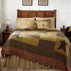 Stratton Luxury King Quilt 120x105 - The luxury king quilt measures 120