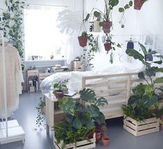 Small dreamy botanical Ikea bedroom | Daily Dream Decor | Bloglovin'