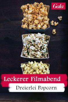 Pünktlich zur Oscar-Nacht präsentiert GALA den Kino-Klassiker Popcorn in aufregenden Varianten Keto, Cereal, Oscar, Breakfast, Fitness, Beauty, Popcorn Recipes, Spanish Tapas, Finger Foods