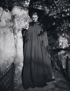"Malgosia Bela in ""Northern Lights"" by Glen Luchford for Purple Fashion #10, Fall 2008"