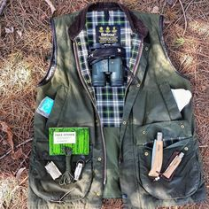 """trampingworld: """" """"A Few Bits Im Carrying While Doing a little Bird Watching and…"""