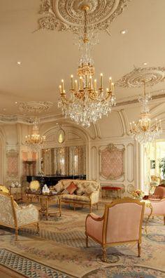 Luxury Home Decor, Luxury Interior, Luxury Homes, Mansion Interior, Room Interior, Design Baroque, Baroque Decor, Classic Interior, Modern Interior