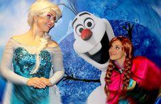 Não espere para vê-la em #OnceUponATime... leve #Elsa, sua irmã #Anna e os personagens de #Frozen para o seu evento! #PersonagensVivos #FestasInfantis #Sven #Kristoff #Olaf #Festa #Teatro #Musical #CiaAndreaTatata