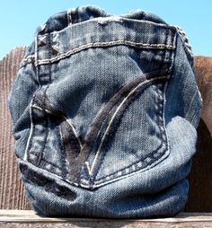 Real Jean Diaper Cover?  How amazing is this?