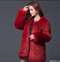 dyed fox fur parka | Furs &amp Softwear 41 | Pinterest | Parkas Fox