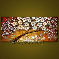 Find More Painting & Calligraphy Information about Tree hand painted wall painting palette knife Tree abstract oil painting canvas modern room decorates living room 09,High Quality decorative canvas fabric,China canvas wholesale Suppliers, Cheap canvas big from ArtupPainting on Aliexpress.com