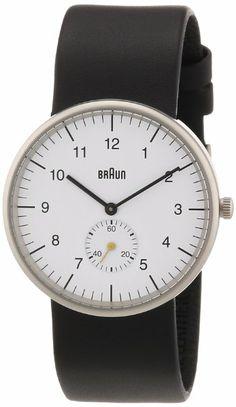 Braun: Men's Analog Watch (BN-24WH) - Black/White: Watches: Amazon.com
