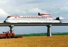 Jean Bertin, Frankreich, Aerotrain -1974