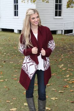 This looks so comfy and cozy. http://www.sidelinesass.com/collections/outerwear