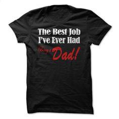Happy to be a dad(v1) T Shirt, Hoodie, Sweatshirts - custom tee shirts #shirt #teeshirt