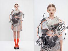 raviv uses 3D printed polymers for virtual reality fashion collection