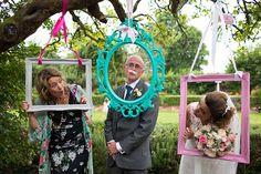 cornici photo booth matrimonio colorate