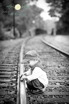 Train photo shoot
