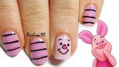 piglet #nail #nails #nailart