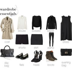 MINIMAL + CLASSIC: Essentials by emmimieux on Polyvore featuring Acne Studios, Joseph, T By Alexander Wang, A.P.C., Givenchy, Theory, Helmut Lang, Isabel Marant, CELINE and Repetto