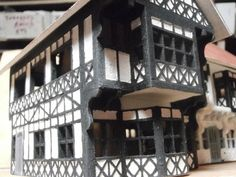 Tudor Gallery - Linka Models and Mini Buildings in scale, can be used for model railway scenery Building Images, Model Building, Amazing Buildings, New Builds, Tudor, Scale Models, Scenery, Layout, Architecture
