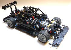 LEGO Audi RS5 DTM minus bodywork by Lipko