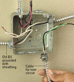 old bx wiring basic wiring diagram u2022 rh dev spokeapartments com old bx cable wiring old bx wiring safe