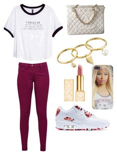 """"" by qveeeeenn on Polyvore featuring H&M, Great Plains, Rebecca Minkoff, Chanel, NIKE and Tory Burch"