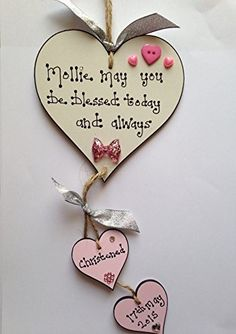 Wooden Hearts Crafts, Heart Crafts, After Baby, Button Crafts, Buisness, Memorable Gifts, Christening, 1 Decembrie, Activities For Kids