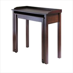 Lowest price online on all Winsome Kendall Expandable Pull Out Computer Desk in Antique Walnut - 94235