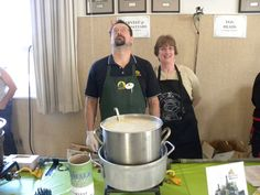 Chowder Tasting happens in Fort Bragg and Mendocino each year for the Mendocino Coast Whale Festivals!