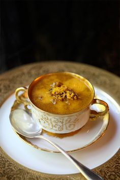 Spicy Pumpkin Soup Recipe, and lovely decorating ideas, also!