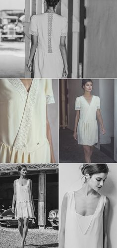 ©Laure de Sagazan - robes de mariee - collection civil 2014 - mariage- Le blog de Madame c #2