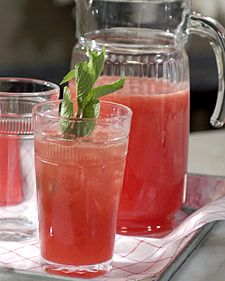 watermelon juice is just the most refreshing drink in the land...watermelon limeade might be second