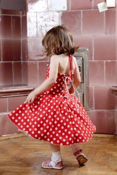 Rochita eleganta rosie cu buline pentru fetite | Zizette Polka Dot Top, Vintage, Tops, Women, Style, Fashion, Swag, Moda, Fashion Styles