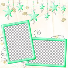 "Layout QP 4A-7 CAFS…..Quick Page, Digital Scrapbooking, Catch A Falling Star Collection, 12"" x 12"", 300 dpi, PNG File Format"