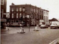 The Plough PH. Junction of Harrow Road, Ladbroke Grove and Kilburn Lane Vintage London, Old London, West London, London History, Local History, Mall Of America, North America, London Bus, Royal Caribbean Cruise
