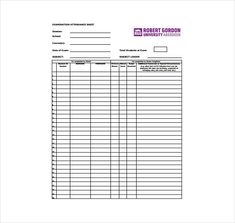 School attendance sheet template is a document which is used to keep the record of students or even the teachers, to know how many of them are present and who were absent. Attendance Sheet Template, Anger Management Activities, School Attendance, Days And Months, Sample Resume, Printables, Pdf, Teaching, Words