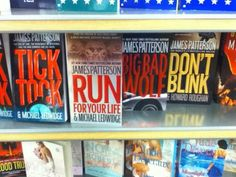 Think James Patterson might be a Doctor Who fan?