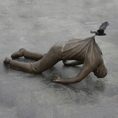 Powerful Bronze Sculptures Tell the Story of European Migrants in Search of Utopia