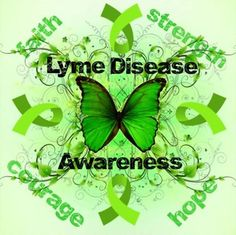 May is Lyme Disease Awareness month.
