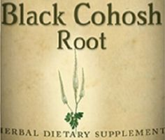 BLACK COHOSH ROOT Herbal Tincture The Menopause Herb Natural Apothecary USA