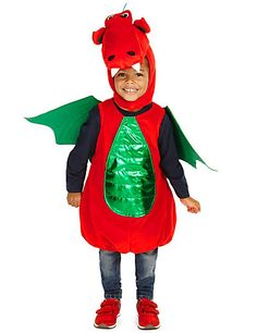Dragon Costume (3-8 Years) | M&S
