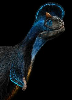 Carnotaurus sastrei by Damir G. Martin
